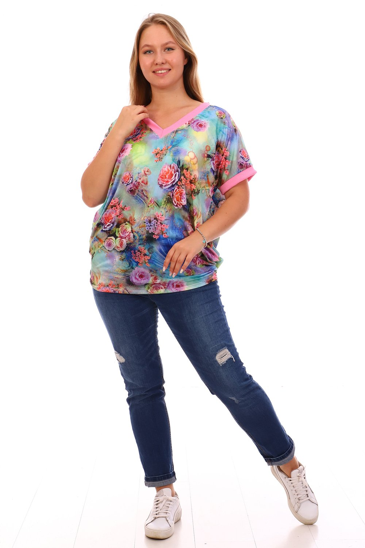 Увеличить - Женская футболка 07