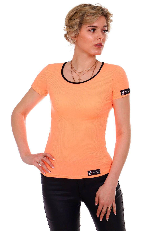 Увеличить - Футболка женская 306 (оранжевый)