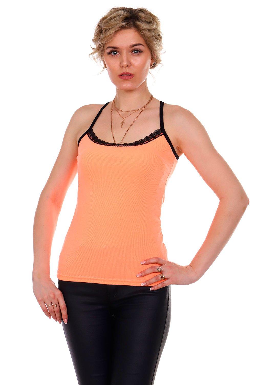 Увеличить - Топ женский 91 (оранжевый)