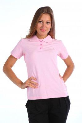 футболка поло женская